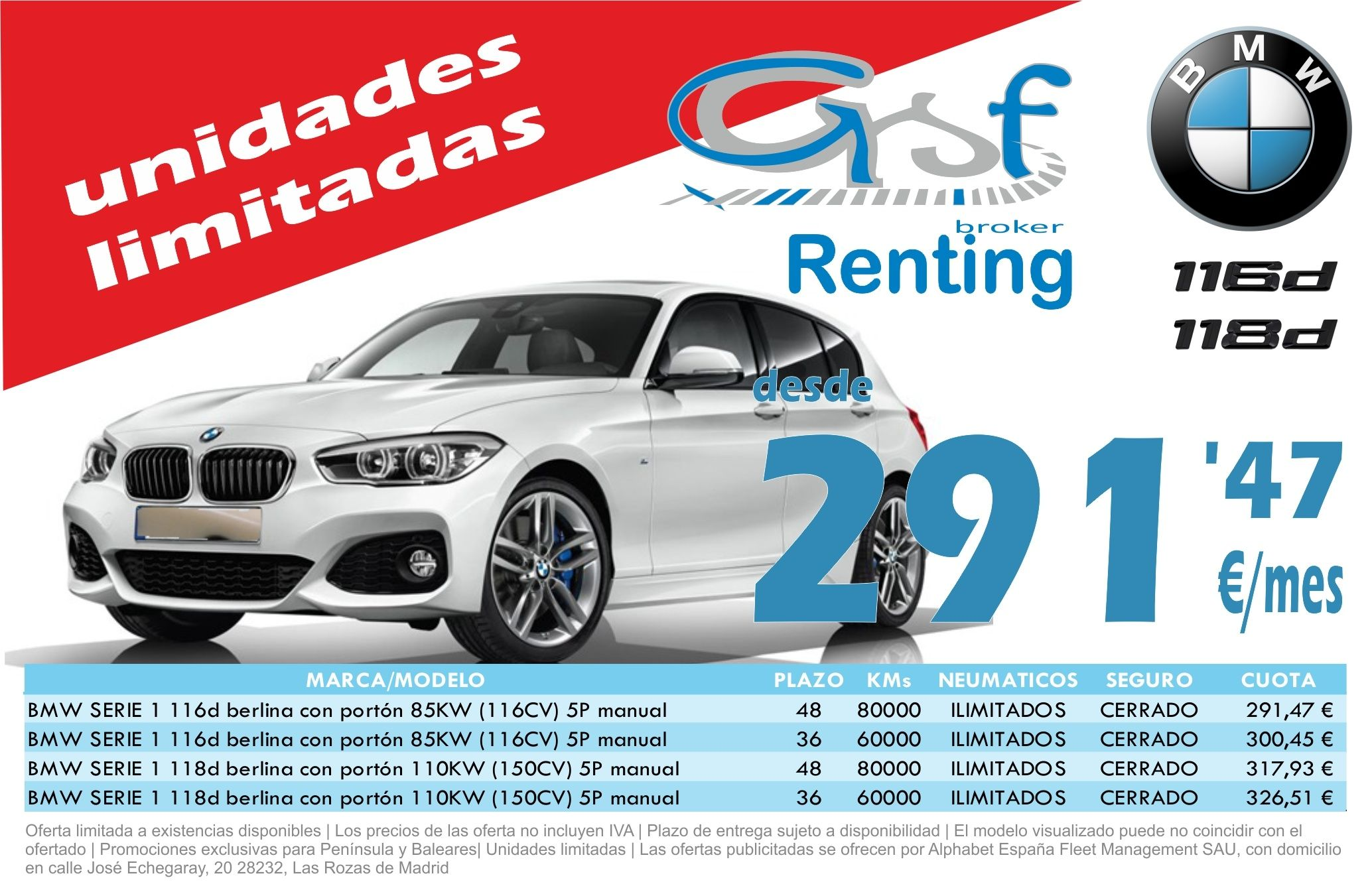 Oferta Especial Stock BMW Serie1
