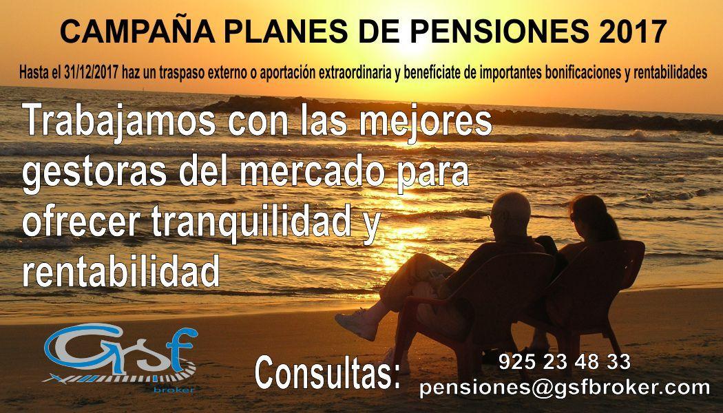 Campaña Planes Pensiones 2017