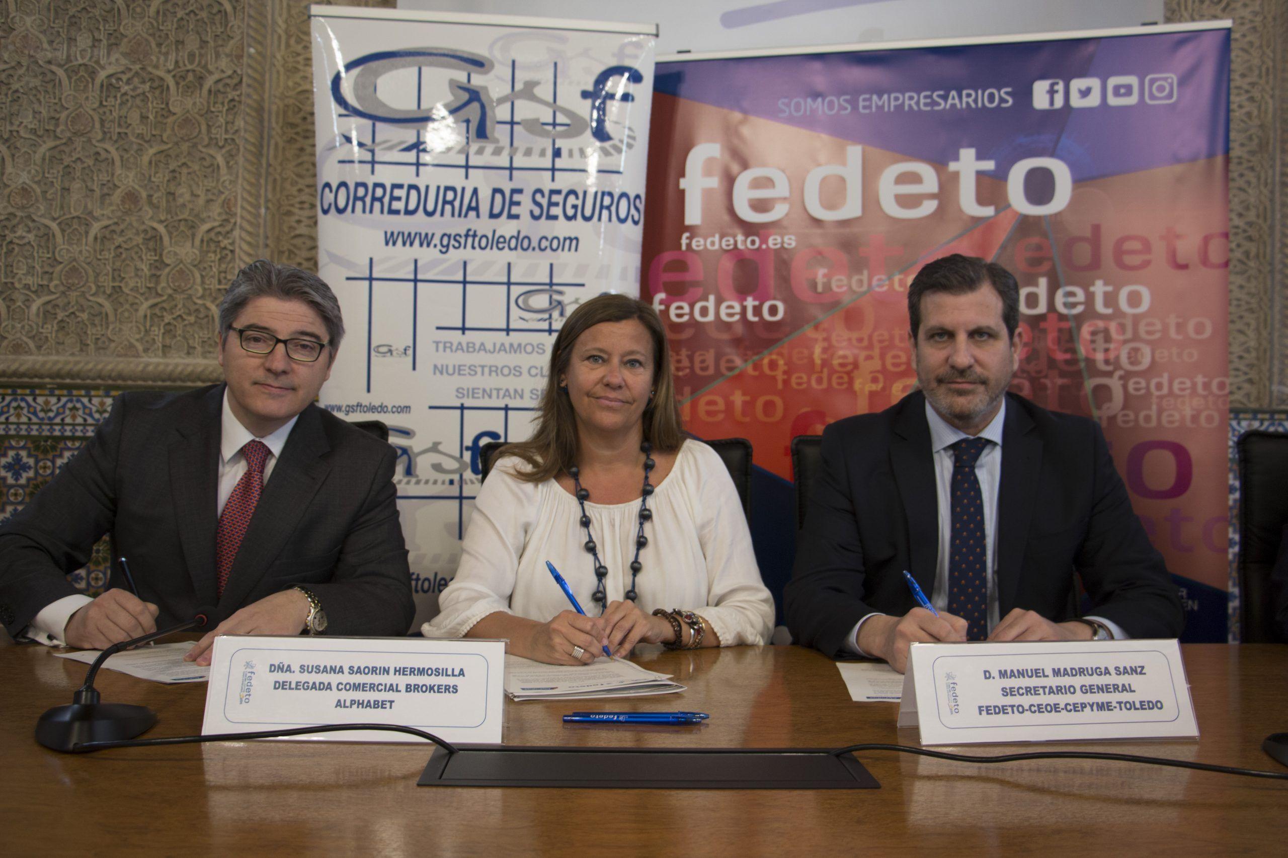 GSF BRÓKER Y FEDETO RENUEVAN EL ACUERDO CON ALPHABET SOBRE RENTING PARA PYMES Y AUTÓNOMOS