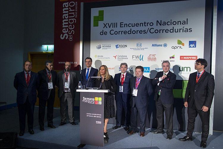 Presentación de D. Enrique García como Vocal de Comunicaciones del Consejo General  de los Colegios de Mediadores de Seguros